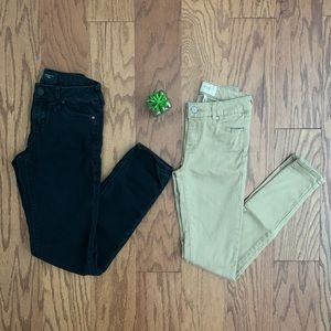 Celebrity Pink Bundle of 2 Skinny Jeans Sz 0/24